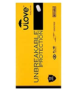 Ulove Apple Iphone 6S Front and Back/1 + 1 Unbreakable Premium Tempered Glass - FREE Installation Kit. Anti Glare, Anti Scratch, Ultra Clear Screen Guard Premium Tempered Glass for <b>Iphone 6S</b>
