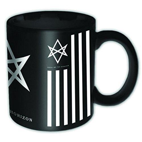Bring Me The Horizon, colore: nero con logo Antivist-Tazza con scatola ufficiale