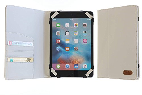 3Q Tablet Cover universale 7 pollici Custodia 8 pollici Novità maggio 2016 Porta Tablet Cover 7 Pollici a 8 Pollici Design Esclusivo Svizzero Custodia universale Grigio