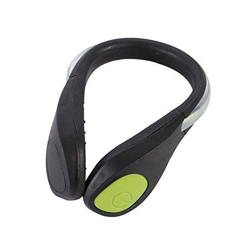 YUSUN-LED-Velo-Cyclisme-Chaussures-Clip-Velo-Securite-Avertissement-Feux-Lumineux-LED-Flash-Light-Pour-Chaussures-De-Coursefeu-vert