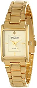 Pierre Cardin Women's PC900942001 Classic Analog Diamond Accents Watch