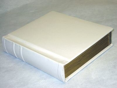 Professional 8x10 Ivory Slip-in Wedding/Parent Photo Album holds 30 Photos