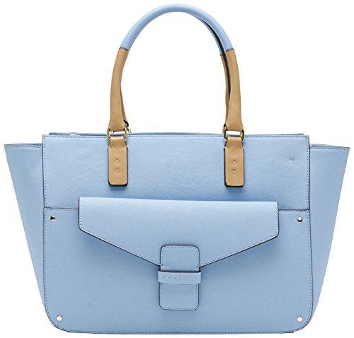 Pennyblack Selce Borsa Shopping, Azzurro, 45 cm