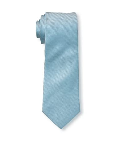 Valentino Men's Interweave Tie, Light Blue