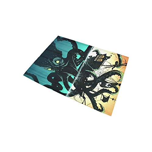 Custom Fashion Home Decorator Octopus Area Rug