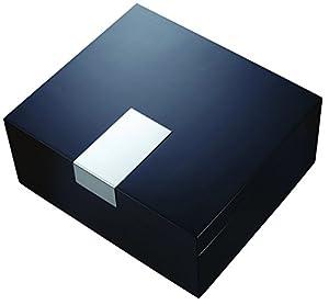 "Visol Products VHUD601 ""Marcus"" Black Matte Cigar Humidor"