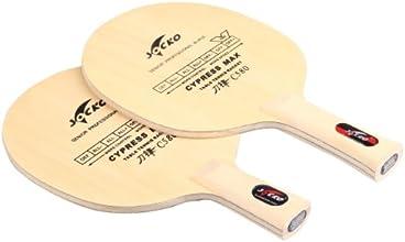 Socko Carbon Plain Wooden Table Tennis Racket Cross c580