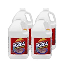 Resolve 97161 Professional Resolve Carpet Extraction / Traffic Lane Cleaner / Pretreatment Conc Use dilution (Case of 4)