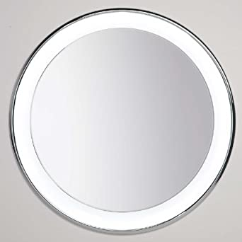 Tech Lighting 700BCTIGRR30S 9 Light Tigris Round Bathroom Mirror, Recessed, Satin Nickel - Led ...