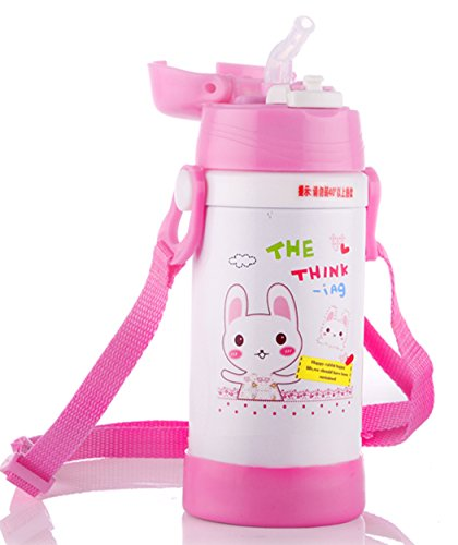 Stainless Steel Sippy Cup With Straw