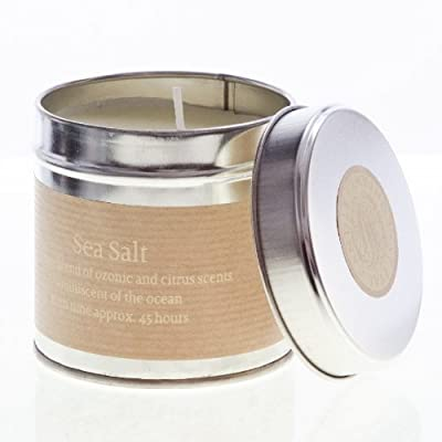 St Eval Scented Candle Tin - Sea Salt