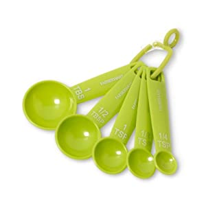 Farberware Color Measuring Spoons, Green, Set of 5 at Sears.com