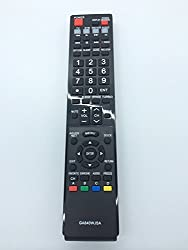 Vinabty New Replaced Lost Generic Remote GA840WJSA LCD TV Remote Control Fit for Sharp Aquos TV LC-40LE810 LC-40LE820 LC-46LE810 LC-46LE820 LC-52LE810 LC-52LE820 LC-60LE810 LC-60LE820