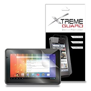 """XtremeGUARD© Screen Protector (Ultra CLEAR) For eMatic GENESIS PRIME 7"""" from Electronic-Readers.com"""