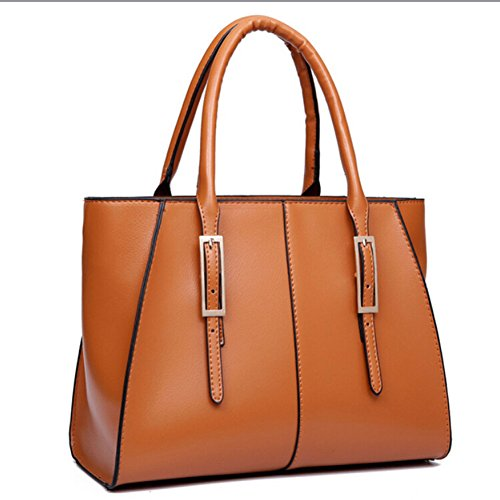 Women Faux Leather Capacity Shoulder Bag Tote Bags Handbag