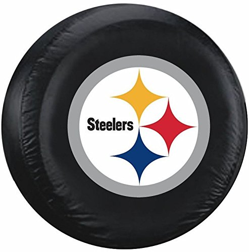 Pittsburgh Steelers Tires Cover Large 11898 (Steeler Tire Covers compare prices)