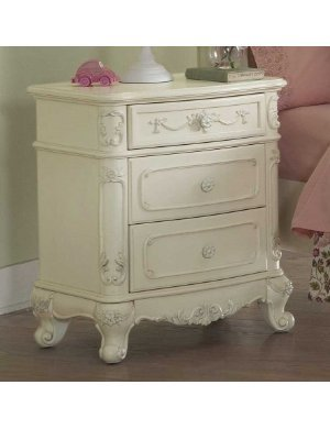Cinderella Night Stand By Homelegance