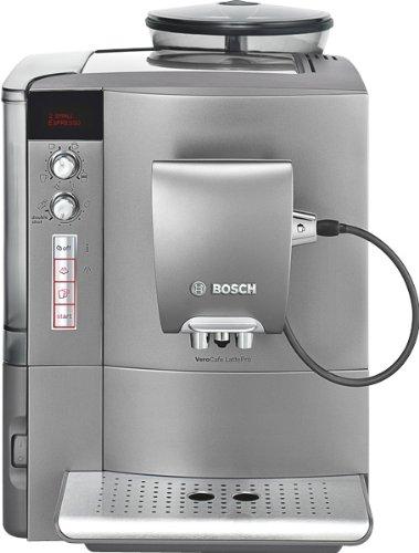 Bosch TES50651DE Kaffee-Vollautomat VeroCafe LattePro (1.7 l, 15 bar, externes Milchsystem) hell-anthrazit thumbnail