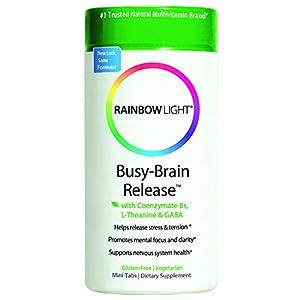 Rainbow Light Busy Brain Release, Coenzymate B,  60 Mini-Tabs