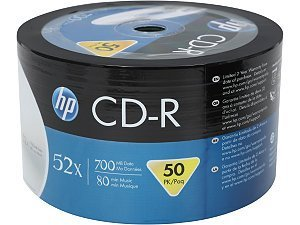 Tub of 50 HP CD-R80 Full face