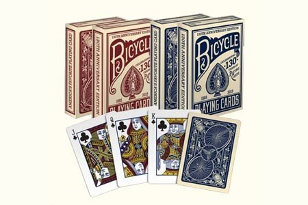 Bicycle 130th Anniversary Edition Playing Cards (Blue)