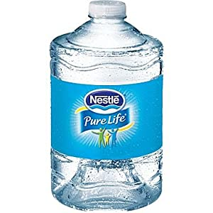 Nestle Pure Life Bottled Purified Water, 3 Liter Bottles, 6 Bottles/Case