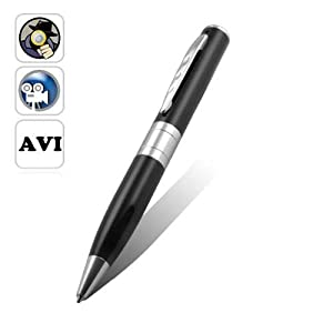 1280x960 720*480 Pen Camera DVR Audio Video Mini Hidden Camera Recorder Silver New 1pc