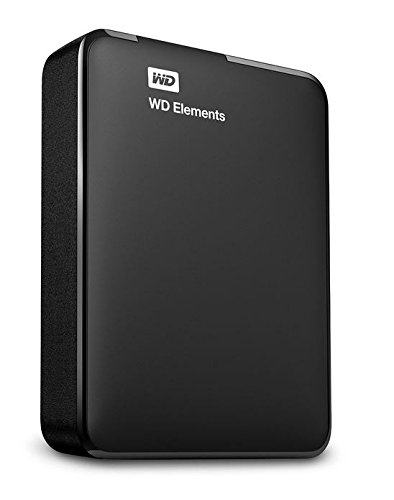 WD Elements Disque Dur Externe Portable 2 To - USB 3.0 - WDBU6Y0020BBK-EESN