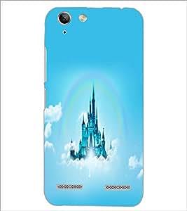 PrintDhaba Flying Castle D-2313 Back Case Cover for LENOVO VIBE K5 (Multi-Coloured)