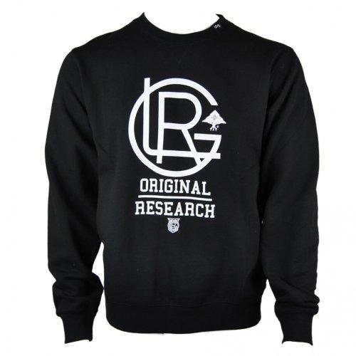 LRG Mens Lrgents Crew Neck Sweater Jumper Sweatshirt In black - xxl