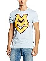 Love Moschino Camiseta Manga Corta (Azul Celeste)