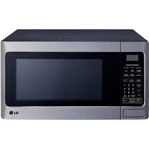 LG LCS1112ST Countertop Microwave Oven, 1000-watt, Stainless Steel (Small Microwave Oven Stainless compare prices)