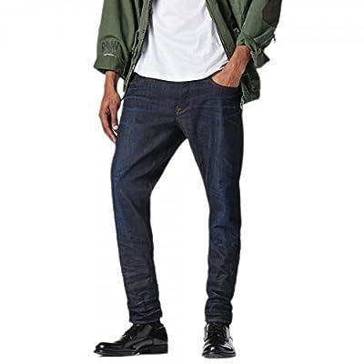 G-Star Men's 3301 Tapered Jeans - Blue (Light Aged 6997)