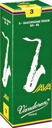 Vandoren Java Tenor Saxophone Reeds #3, Box of