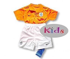 Holland minikit domicile maillot et short 2008
