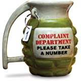 Big Mouth Toys Grenade Mug - Take a Number