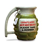 BigMouth Inc Grenade Mug – Take a Number