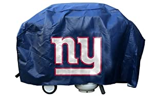 New York Giants Deluxe Grill Cover by Hall of Fame Memorabilia
