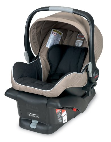 Britax B-Safe Infant Car Seat, Sandstone front-802285