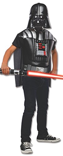Rubies Star Wars Darth Vader Deluxe Muscle Chest Child Costume Top, Standard