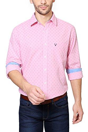 Allen-Solly-Pink-Shirt