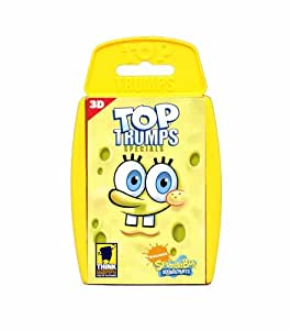 Winning Moves Top Trumps Spongebob