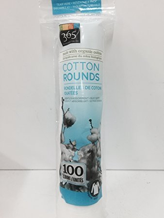 365 Everyday Cotton Rounds Made With Organic Cotton (Pack Of 2)