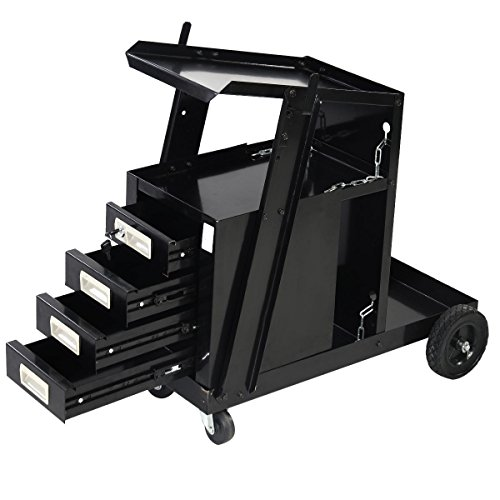 The Goplus Universal Welder Cart