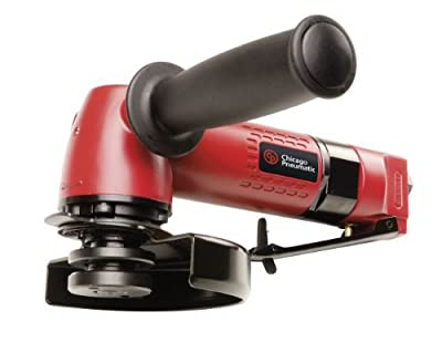 Chicago Pneumatic CP9121BR Heavy Duty 5-Inch Angle Grinder with 5/8-Inch, 11 Spindle