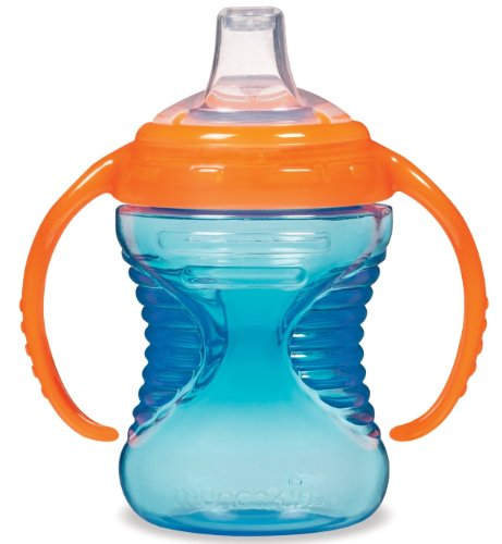 Munchkin Mighty Grip Trainer Cup, 8 Ounce, Blue - 1