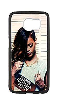 Brand New Durable Case for samsung_galaxy_s6,Rihanna phone case,DIY Cell Phone Case with Actor(Only black.)