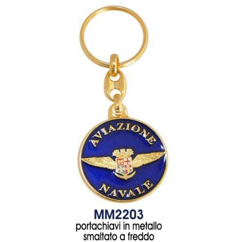 Giemme articoli promozionali - Portachiavi Stemma Aviazione Navale Marina Militare Prodotto Ufficiale