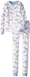 Hatley Little Girls' Dragonflies Pajama Set