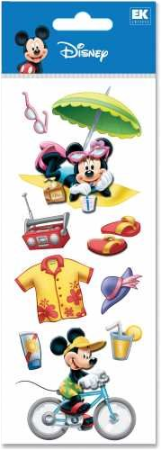 A Touch Of Disney Dimensional Stickers-VacationA Touch Of Disney Dimensional Stickers-Vacation